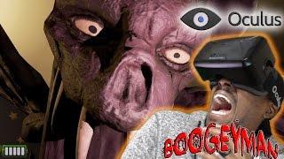 Crying Tears Of Fear | Boogeyman VR Oculus Rift Horror Game | DK2
