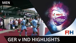 GER v IND match highlights #HCT2016