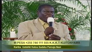 "Rev: Daniel Mgogo "" MADHARA YA DHAMBI ""  Morning glory 20/07/2018"