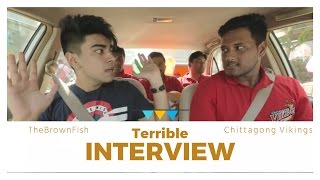 Terrible INTERVIEW by THEBROWNFISH