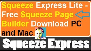 Free Squeeze Page Builder Download - Squeeze Express Lite Software