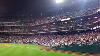 Citizens Bank Park View From Left Field Section 143 Row 1