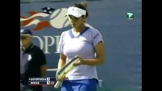 Sania Mirza v Govortsova 2009 US Open