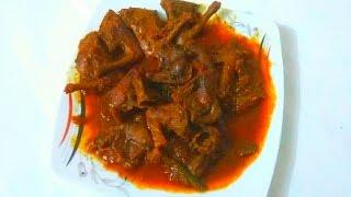 কবুতরের মাংস ভূনা||Bangali Kobutorer Mangsho Vuna Recipe||