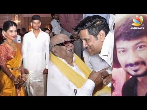 Chiyaan Vikram's daughter engaged to Karunanidhi's grandson | Marriage Next Year