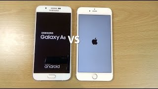 Samsung Galaxy A8 VS Apple iPhone 6+ Speed & Camera Test!