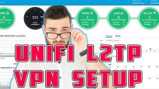 Unifi L2TP VPN setup Windows 10  Working!