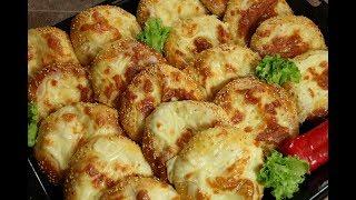 فطائر القشقوان بالعجينة القطنية الخفيفة كالقطن فطائر الجبنة الطرية مع رباح محمد ( الحلقة 420 )