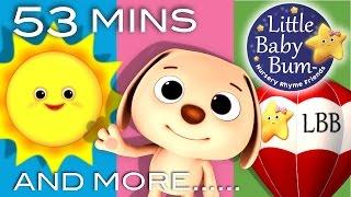 Mr Sun, Mr Golden Sun | Plus Lots More Nursery Rhymes | 53 Minutes Compilation from LittleBabyBum!