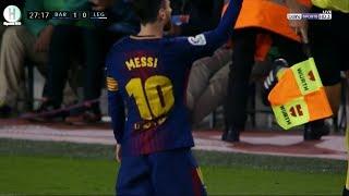 اهداف مباراة برشلونة و ليجانيس | 3-1  | الدوري الإسباني | 7-4-2018 HD