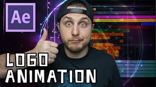 After Effects Tutorial - Dynamic Logo Animation