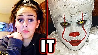 Pennywise Scare Prank 2 ♥ It 2017