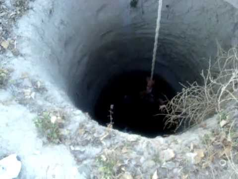 Bajando al pozo Parras de la fuente Coahuila.