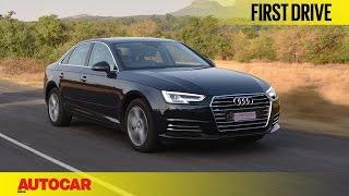 Audi A4 35 TDI | First Drive | Autocar India