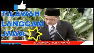 HEBOH - Tilawah Alquran dengan Langgam Jawa Acara Isra'Mi'raj di Istana Negara 2015