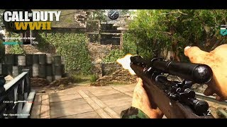 Call of Duty® WW2 - MONTAGE SNIPER !