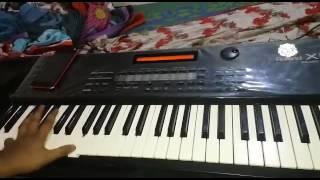 Yaad lagal on roland keybord