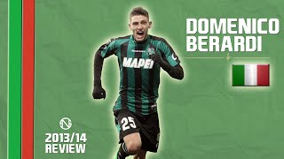 DOMENICO BERARDI | Goals, Skills, Assists | Sassuolo | 2013/2014 (HD)