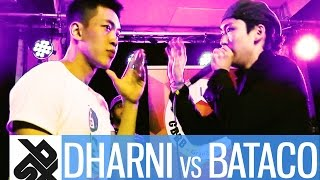 DHARNI vs BATACO  |  Grand Beatbox 7 TO SMOKE Battle 2016  |  Battle 3