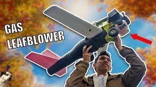 FLYING Leaf Blower RC Airplane Drone