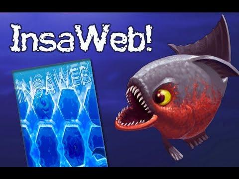 InsaWeb juego basado en Insaniquarium Deluxe próximamente
