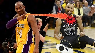 Kobe Bryant ACCUSED of CURSING Steph Curry & The NBA Playoffs