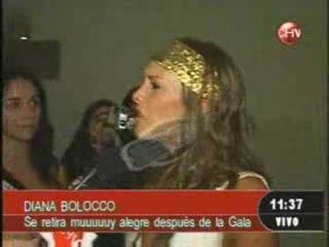 Diana Bolocco borracha