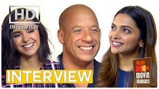 xXx 3 | Most badass member - exclusive interview Vin Diesel, Nina Dobrev, Deepika Padukone & Co