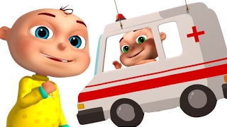 Five Little Babies Dressed As Drivers | Nursery Rhymes Collection | Cartoon Animation For Kids