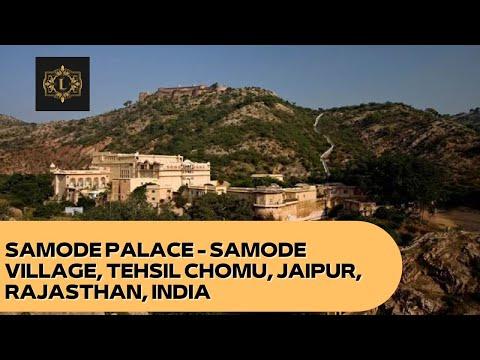Samode Palace - Samode Village, Tehsil Chomu, Jaipur, Rajasthan, India