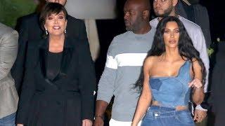 Kim Kardashian Joins The Fam To Celebrate Jonathan Cheban's B-Day