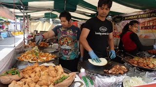 Indian Street Food in London Compilation: