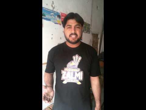 Peshawar Zalmi Suporter