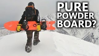 Do You Need a Pure Powder Snowboard?