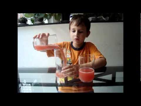 Gabriel Prova piagetiana de conservação de líquidos