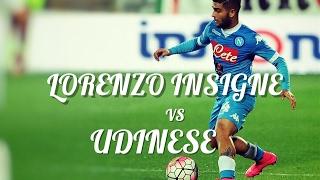 Lorenzo Insigne vs Udinese (1-2) Away - Serie A 19/11/2016 HD