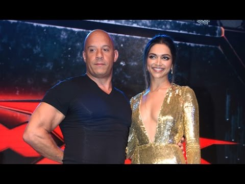 Deepika Padukone and Vin Diesel make a grand entry to promote XXX  Return of Xander Cage