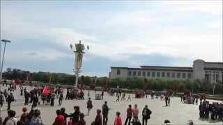 Tiananmen Square, China 360 Degree View 2015