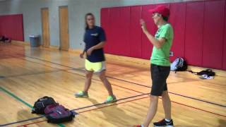 How to do a basic volleyball spike