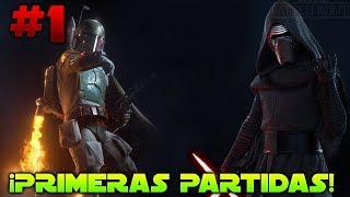 Star Wars Battlefront 2 ¡PRIMERAS PARTIDAS #1! En Español | ByOscar94 1080p 60fps