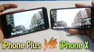 iPhone X vs iPhone Plus Screen Size! (5.8 inch vs 5.5 inch) • Does It Make A Difference?