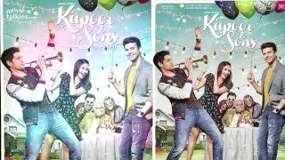 Kapoor & Sons 2016 First Look Out   Sidharth Malhotra, Alia Bhatt, Fawad Khan, Rishi Kapoor