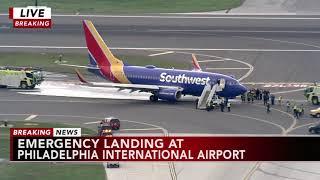 Passenger recalls Southwest Airlines emergency landing
