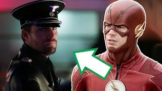 The Flash Season 4 Arrow Supergirl Crossover Trailer Breakdown! -