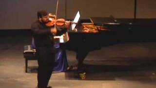 Concurso Nacional de Luteria - Violino de Paulo Mouta - Vencedor do Concurso