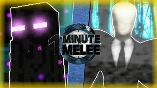 Enderman vs Slenderman - One Minute Melee S6 EP12