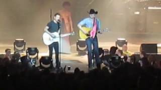 Dierks Bentley - Jon Pardi - All My Exes Live In Texas (Cover) 02-06-2017