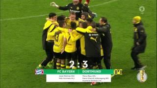 DFB Pokal Halbfinale 2017 FC Bayern - BVB Dortmund  - Letzte Minute