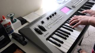 A Thousand Years - keyboard cover
