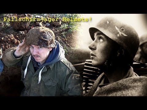 Metal Detecting WW2 - GERMAN PARATROOPER HELMETS FOUND!! [ HUGE WWII DUMP DISCOVERED ] - PART 5